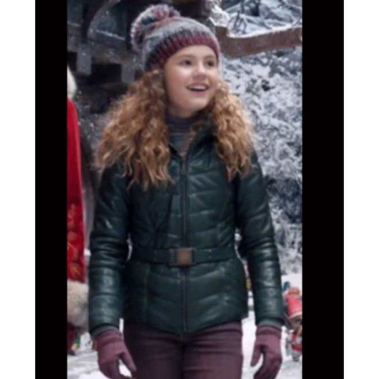 Darby Camp The Christmas Chronicles 2 Green Jacket