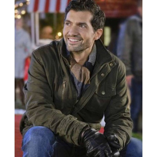 David Alpay The Christmas Ring Cotton Jacket