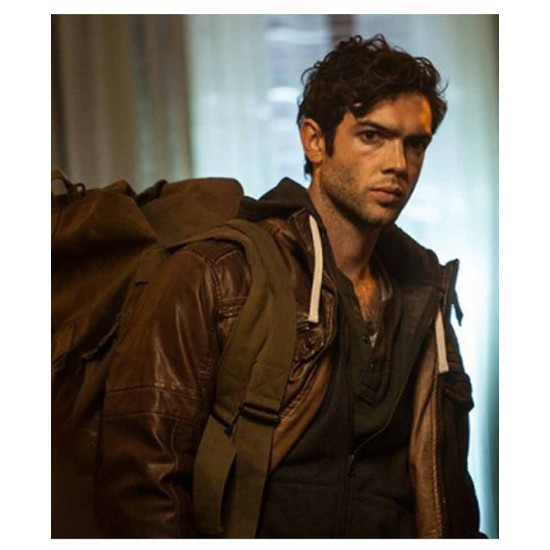 Ethan Peck The Curse of Sleeping Beauty Leather Jacket