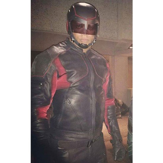 The Devil's Greatest Trick Arrow Spartan Leather Jacket