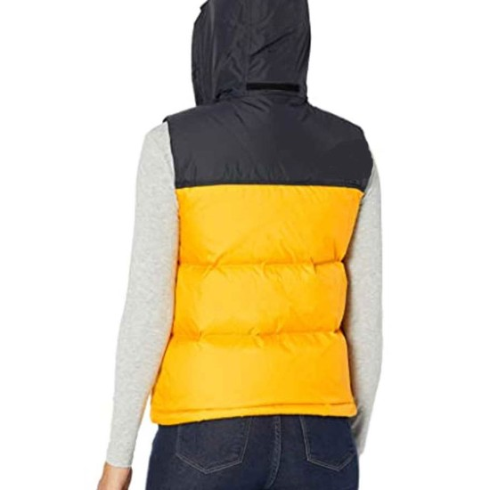 The Equalizer Laya Deleon Hayes Vest with Hood