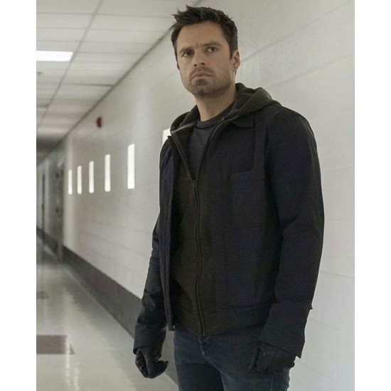 The Falcon and the Winter Soldier Sebastian Stan Cotton Jacket