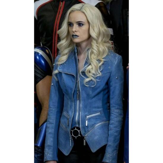The Flash Season 4 Killer Frost Blue Jacket