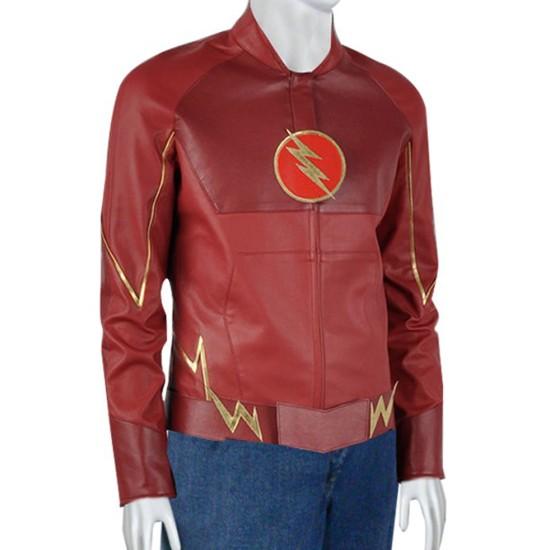 The Flash Leather Jacket