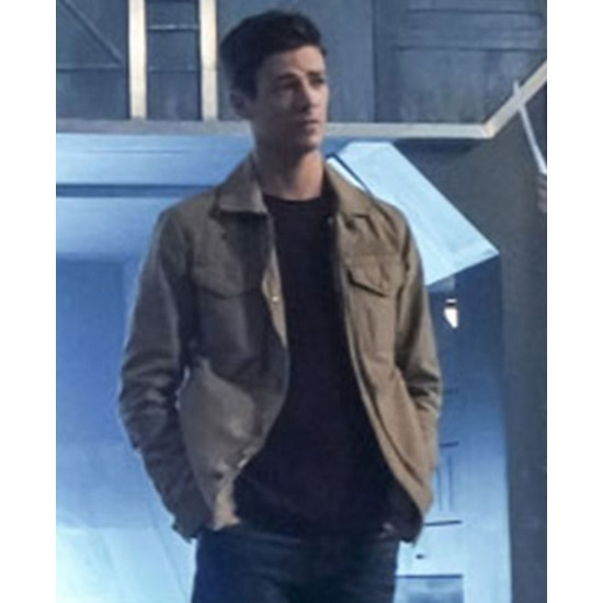 Grant Gustin The Flash S05 Jacket