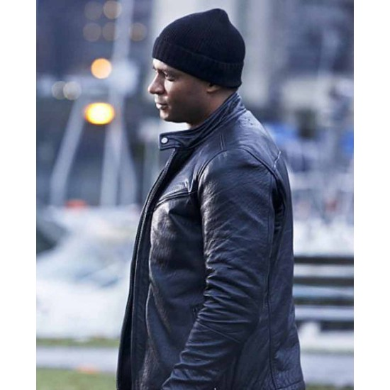 The Flash  Season 2 David Ramsey Leather Jacket