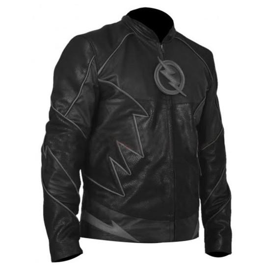 The Flash Zoom Leather Jacket