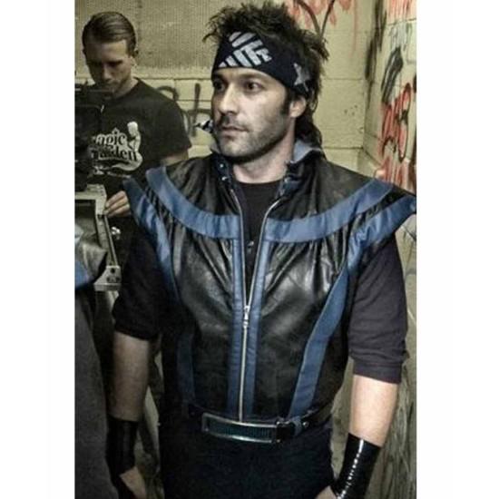BTRO The FP Leather Hoodie Vest