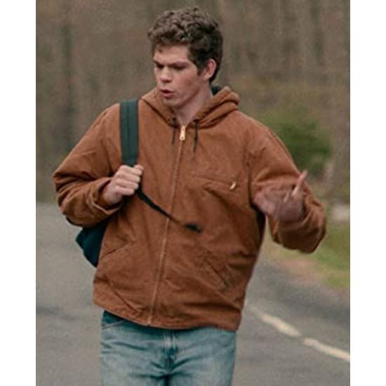 Daniel Diemer The Half of It Brown Jacket