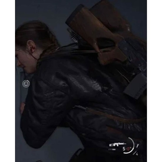 The Last of Us Part 2 Abby Bomber Jacket