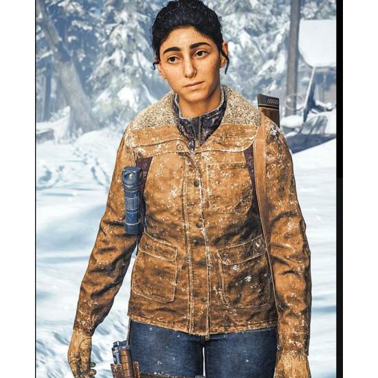Dina The Last of Us Part 2 Cotton Jacket