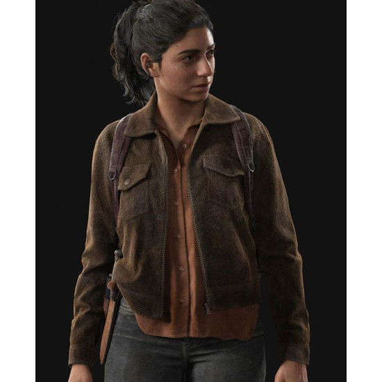 Dina The Last of Us Part 2 Corduroy Jacket