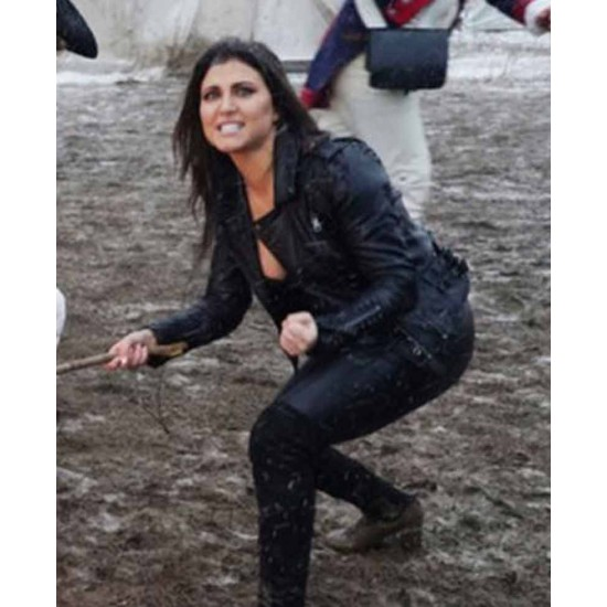 Cassandra Scerbo The Last Sharknado Leather Jacket