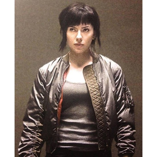The Major Ghost in The Shell Jacket