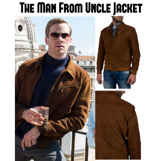 Armie Hammer The Man From Uncle Jacket