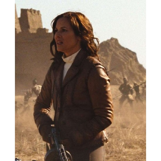 Evelyn O'Connell The Mummy 3 Leather Jacket
