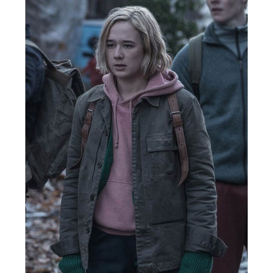 Alba August The Rain Green Cotton Jacket