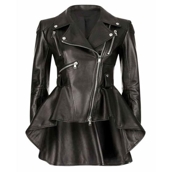 The Umbrella Academy Emmy Raver Lampman Black Leather Jacket