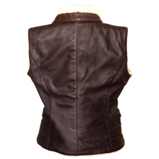 Andrea Harrison Walking Dead Laurie Holden Leather Vest