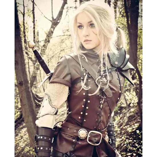Cirilla The Witcher Saga Leather Vest