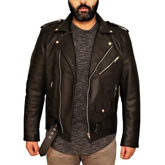 Chris Evans Scott Pilgrim vs. the World Leather Jacket