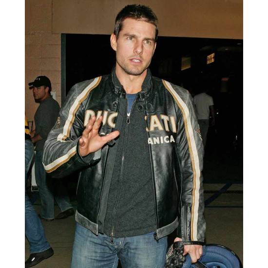 Ducati Meccanica Tom Cruise Leather Jacket