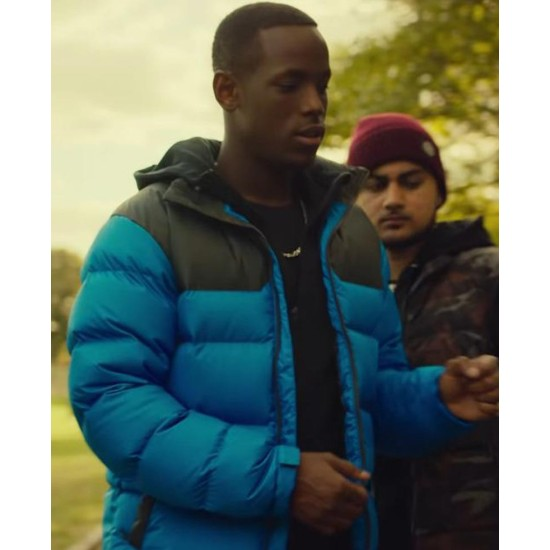 Top Boy Season 3 Micheal Ward Parachute Jacket