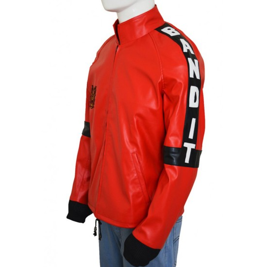 Red Leather Bandit Jacket