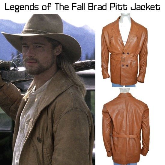 Brad Pitt Legends of The Fall Tristan Ludlow Jacket