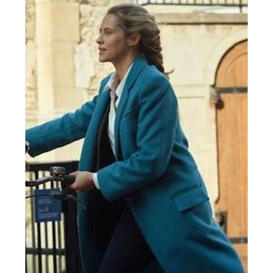A Discovery of Witches Teresa Palmer Trench Coat