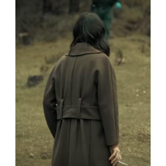 Dark Desire Maite Perroni Wool Coat