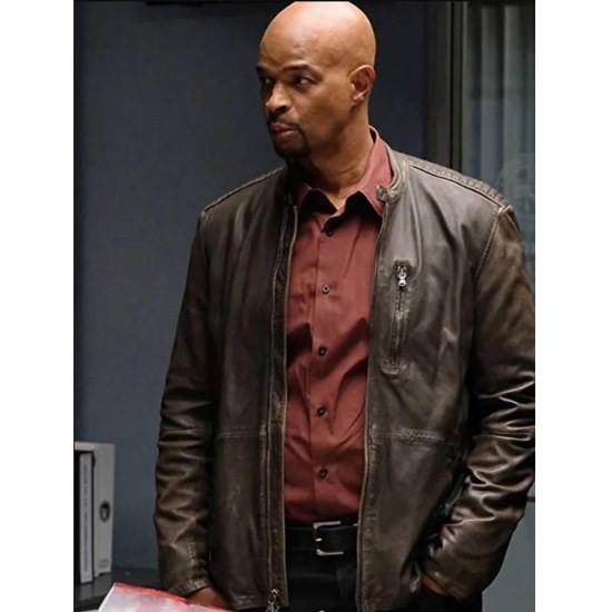 Damon Wayans Lethal Weapon Brown Jacket