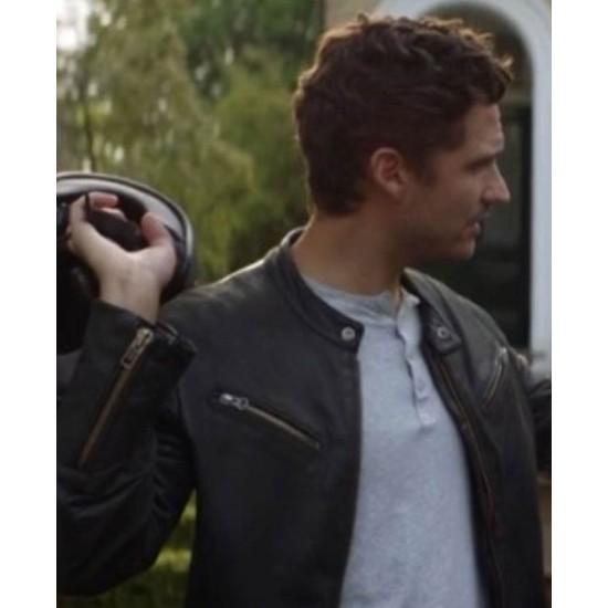 Ben Aldridge Fleabag Black Leather Jacket