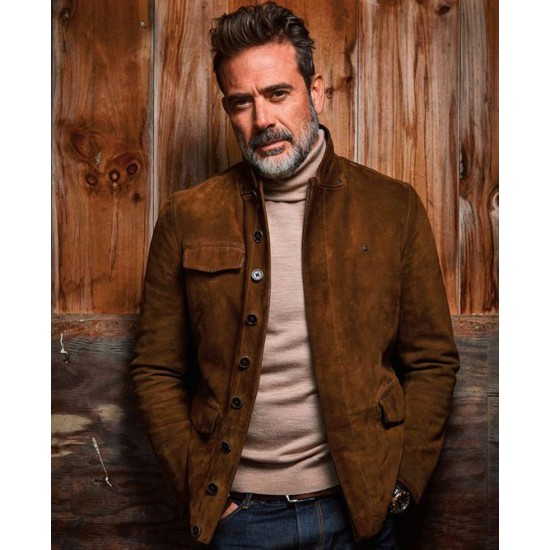 The Walking Dead Jeffrey Dean Morgan Brown Jacket