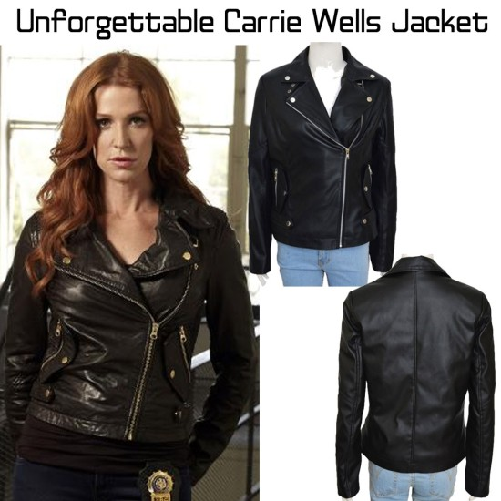 Biker Style Unforgettable Carrie Wells Jacket