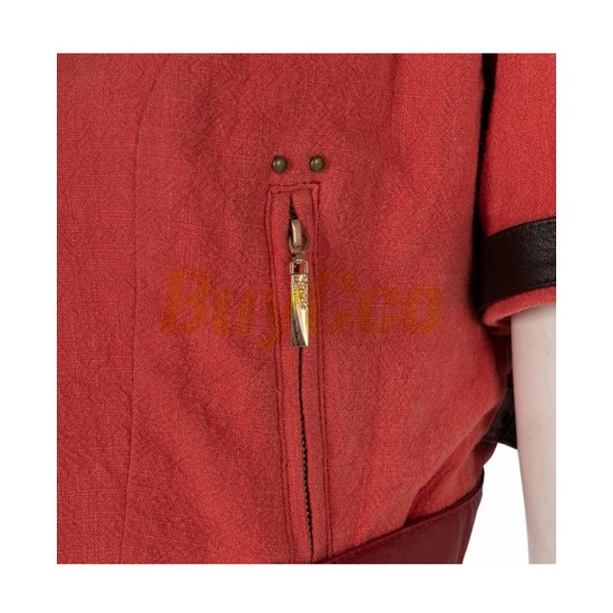 FF VII Remake Aerith Cropped Jacket
