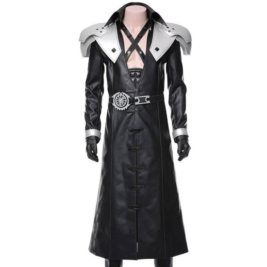 Final Fantasy VII Sephiroth Leather Coat