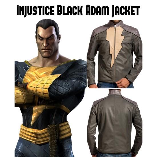Video Game Injustice Black Adam Jacket
