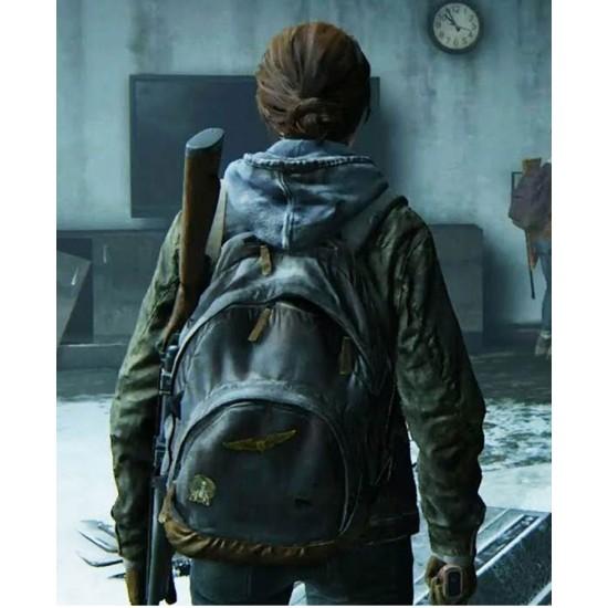 Ellie The Last of Us Part II Green Jacket