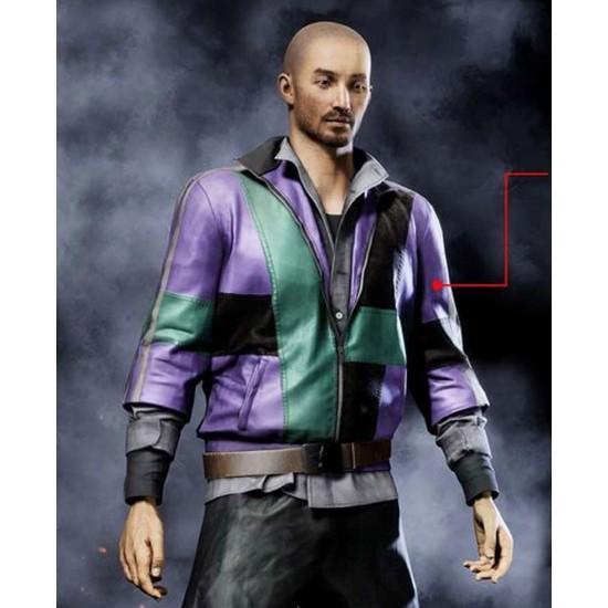 Vigor 1.1 Bridges Funktown Purple and Green Jacket