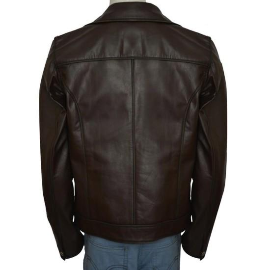 Dwayne Johnson Walking Tall Chris Vaughn Leather Jacket