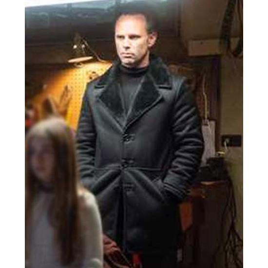 Fatman Walton Goggins Black Coat