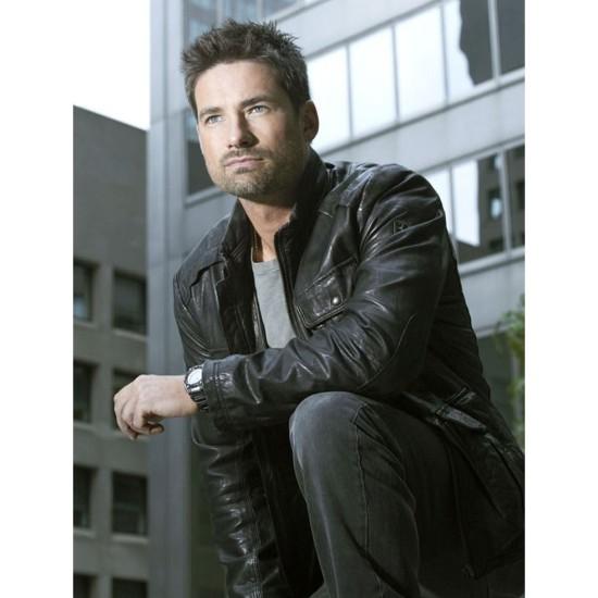 Alphas Cameron Hicks Leather Jacket
