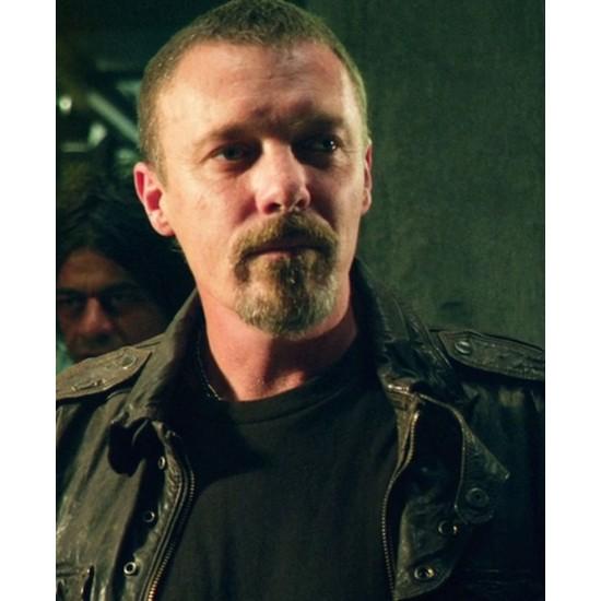 Caleb Dredd Leather Jacket