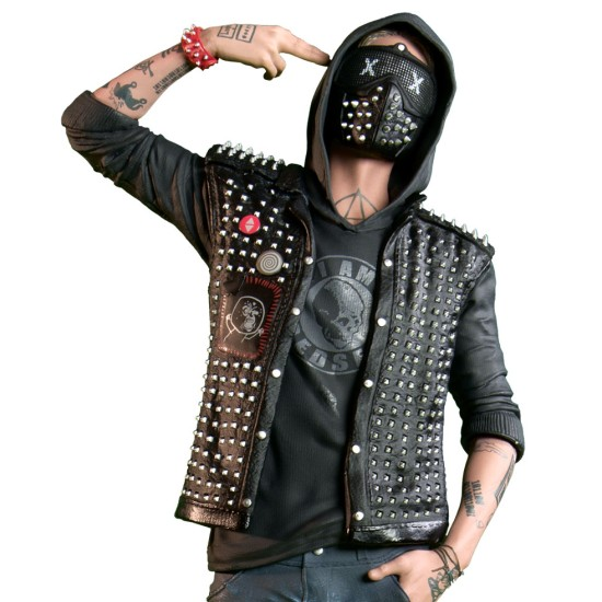 Watch Dogs 2 Wrench Jacket with Patches