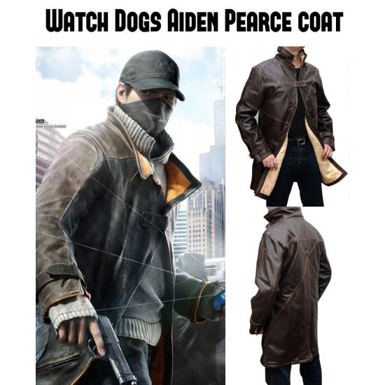 Watch Dogs Aiden Pearce Jacket