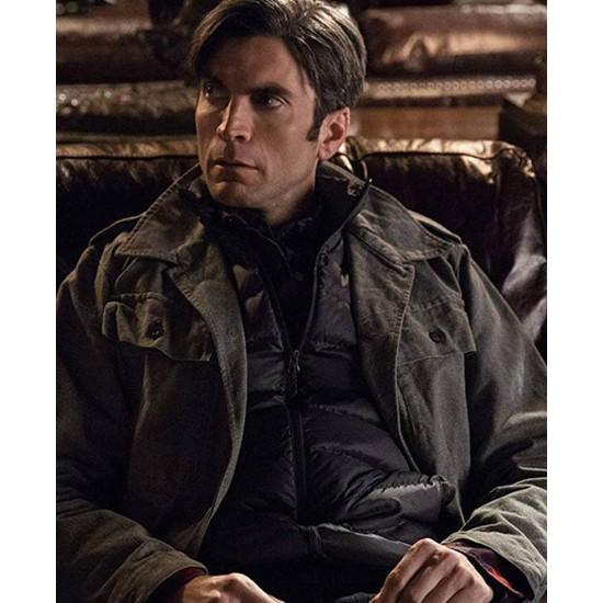 Yellowstone S02 Wes Bentley Cotton Grey Jacket