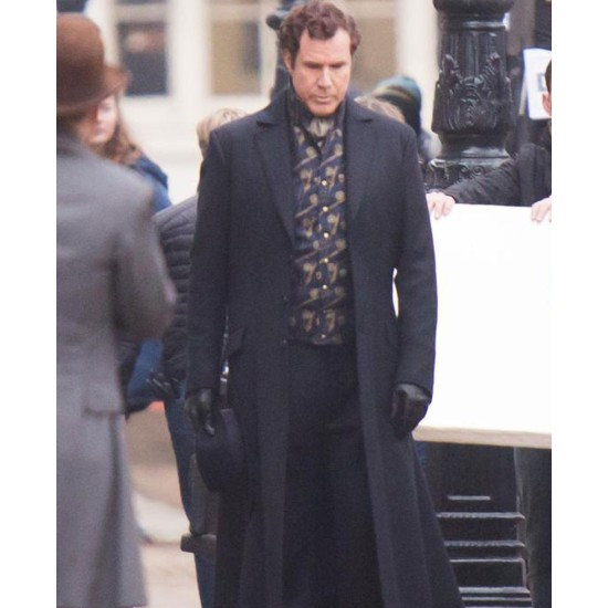 Will Ferrell Holmes and Watson Trench Coat