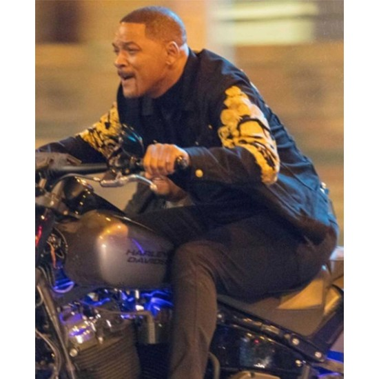 Will Smith Bad Boys 3 Biker Jacket