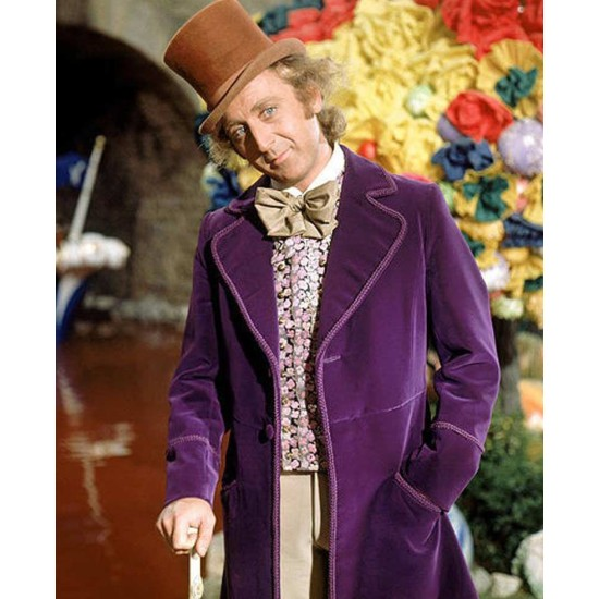 Willy Wonka & the Chocolate Factory Purple Jacket